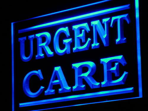 Urgent Care Supply Shop Display neon Light Sign
